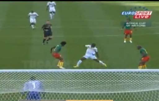 نتيجة مباراة الكاميرون والجابون | اهداف مباراة الكاميرون والجابون | انجولا 2010