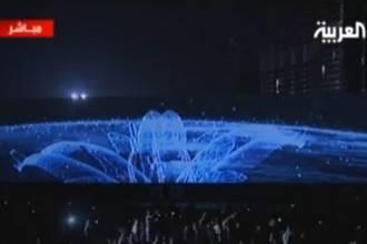 افتتاح برج دبي في حفل اسطوري ساحر| فيديو