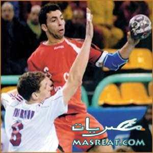 مباراة مصر والجزائر في كرة اليد نهائي كأس افريقيا 2010