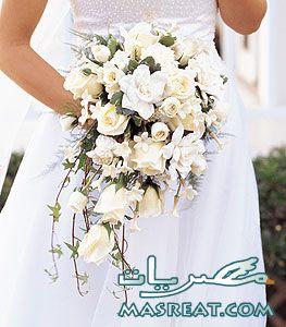 افكار بوكيه ورد العروسة