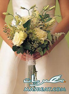 بوكيه ورد العروس
