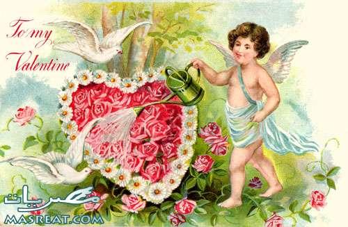 بطاقات رومانسية صور عيد الحب