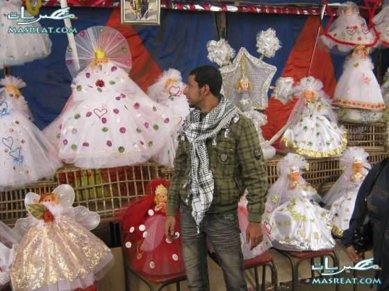 صور بائعي الحلوى في المولد النبوي الشريف