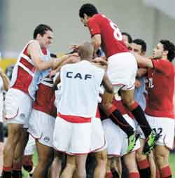 قرار الفيفا بصعود مصر الى كأس العالم
