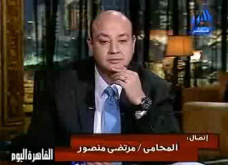 مرتضى منصور : عدم ايقاف برامج شوبير يعرض وزير الاعلام للحبس