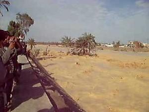 سيول سيناء العريش