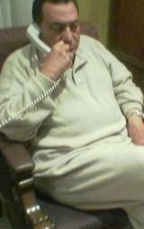 مبارك في غرفة العناية المركزة بعد عملية جراحية ناجحة في المانيا