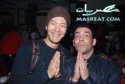 معجب صيني يطارد سعد الصغير