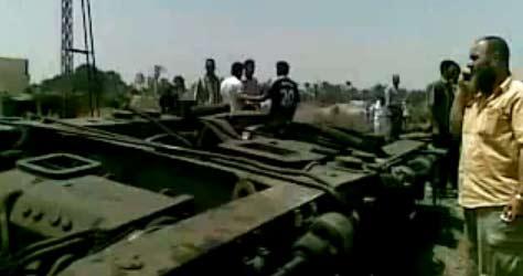 حادث قطار دمنهور | حادث تصادم قطار ركاب مع اخر دمنهور