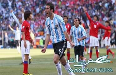 نتيجة واهداف مباراة الارجنتين وكوريا الجنوبية 4-1