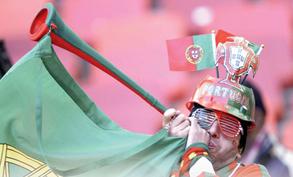 مشاهدة مباريات كأس العالم 2010 بدون الفوفوزيلا لانه صوتها اقوى من الطائرة النفاثة