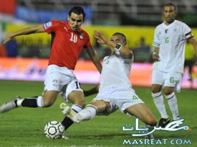 مباراة مصر والجزائر في تصفيات  كأس العالم 2010 جنوب افريقيا