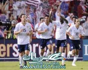 مشاهدة مباراة امريكا و غانا
