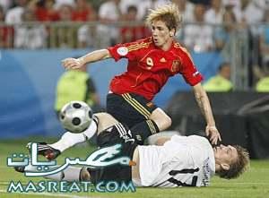 اهداف مباراة المانيا و اسبانيا