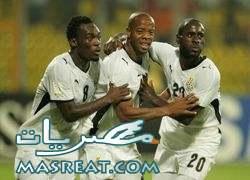 مشاهدة مباراة غانا و اورجواي اون لاين مباشر .. شجع اخر ممثل لافريقيا