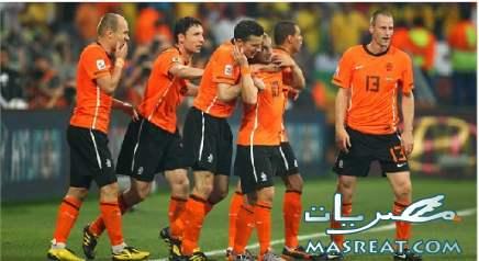 نتيجة مباراة هولندا و البرازيل حسمها هدف شنايدر وتأهل الطواحين لنصف النهائي