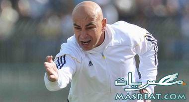 حسام حسن يرفض عودة ميدو الى الزمالك خوفا على مشاعر عمرو زكي