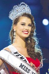 ملكة جمال العالم جيمينا المكسيكية تغلبت على 82 متنافسة