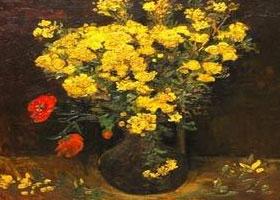 سرقة لوحة زهرة الخشخاش