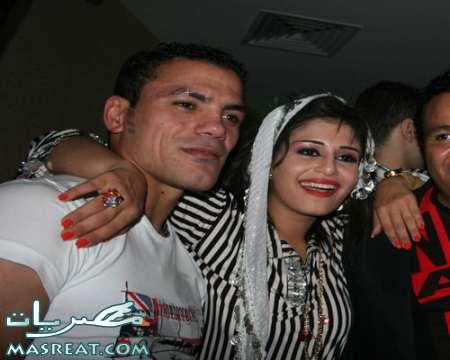 صور عمرو زكي مع منة فضالي في عيد ميلادها