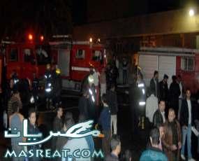 حريق فندق نوبة نيل السياحي في اسوان واصابة 3 سياح