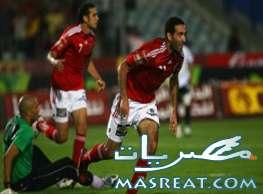 مباراة الاهلي وبتروجيت في الدوري المصري الممتاز 2011