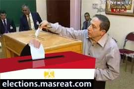 محمد نصر الدين علام في دائرة جهينة قبل انتخابات الشعب 2010