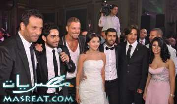 المخرج محمد سامي ترك عروسته في الكوشة من اجل عمرو دياب
