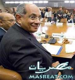 وزير المالية يوسف بطرس غالي
