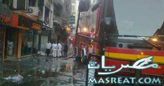 حادثة حريق الشواربي: دمرت 50 محلا وورشة ملابس