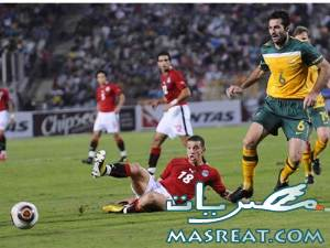 مباراة مصر وقطر الودية
