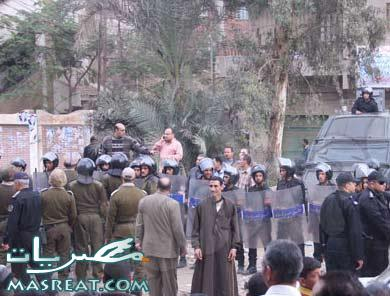 اقتحام قريب مرتضى منصور لجان اتميدة حول البوهة لثكنة عسكرية