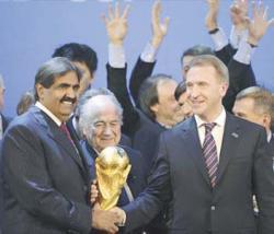 احتفالات وفرحة عارمة من استضافة قطر لكاس العالم مونديال 2022