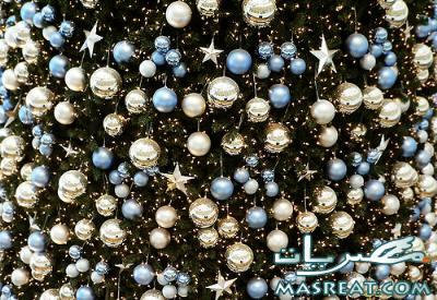 صور اشكال تزيين شجرة عيد الميلاد المجيد