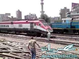 حادثة قطار سمالوط المنيا :مجند شرطة اطلق النار عشوائيا على الركاب