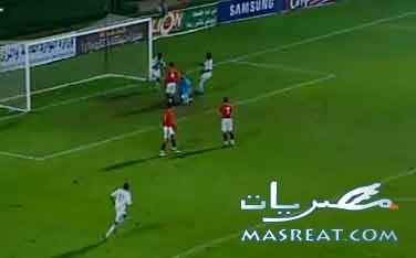 اهداف مصر وكينيا : هاتريك احمد بلال وائل جمعة و السيد حمدي