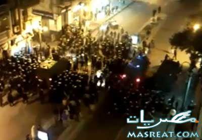 اخبار المظاهرات اليوم: اهالي السلوم يهاجمون مقر امن الدولة