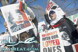 مظاهرات ليبيا : ارتفاع اعداد ضحايا مظاهرات ليبيا و بنغازي 2011