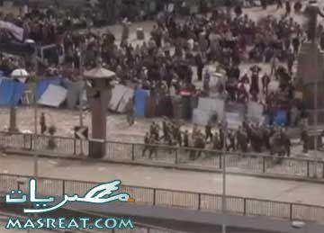 احداث المظاهرات في مصر