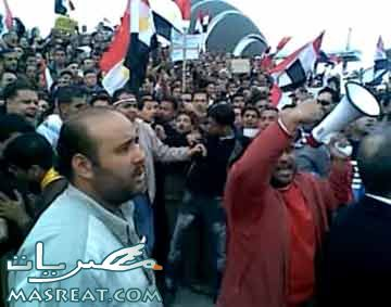 مظاهرات الاقباط في الاسكندرية