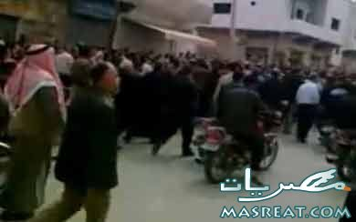 مظاهرات سوريا 2011 - دمشق - درعا - حمص - حماه - الصنمين