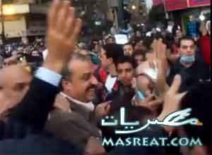 احداث التحرير الان: طرد البلتاجي امين حزب الاخوان من الميدان