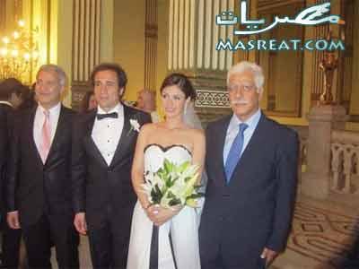 صور زواج بسمة وعمرو حمزاوي
