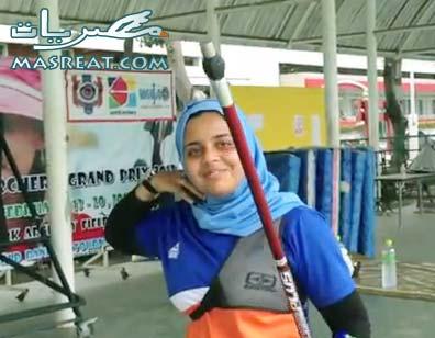 اشهر لاعبات الرماية اولمبياد لندن ٢٠١٢ العربيات العراقية راند علي