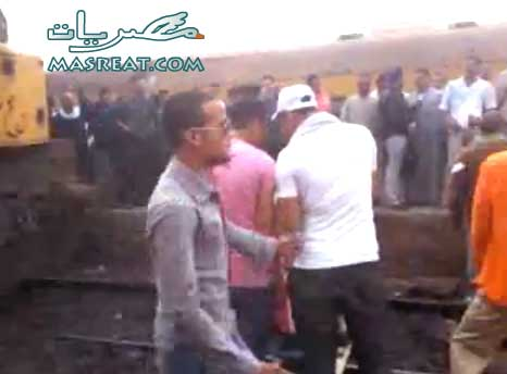 حادث قطار الفيوم