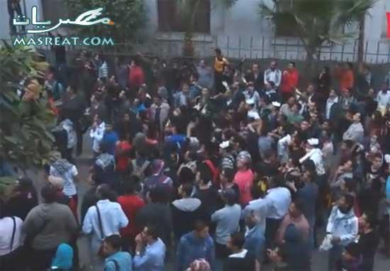 اخر الاخبار عن احداث مظاهرات شارع محمد محمود في مصر اليوم