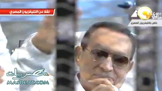 اخبار وقائع جلسة اعادة محاكمة حسني مبارك 2013 في مصر اليوم