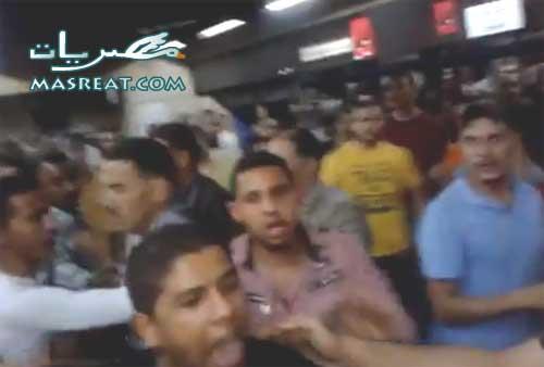 اخبار الاعتداء على ملتحي وتعريته بمترو القاهرة في مصر اليوم