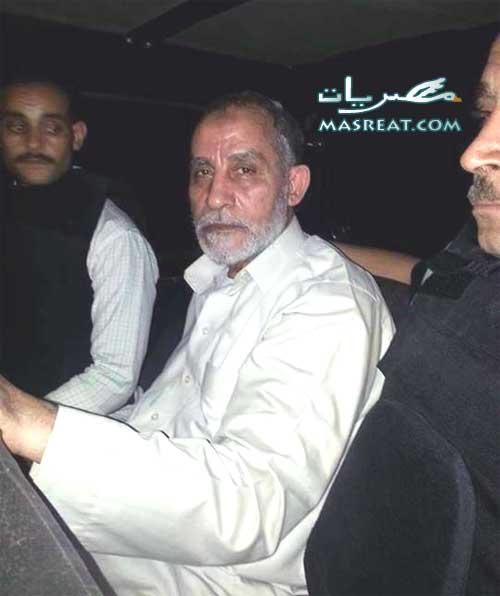 القبض على المرشد العام لجماعة الاخوان المسلمين محمد بديع