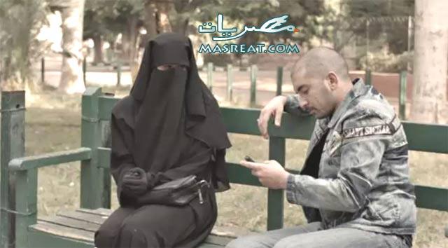 بالصور، الفنانة مي سليم ترتدي النقاب، وتتعرض لمشاكل في المرايا